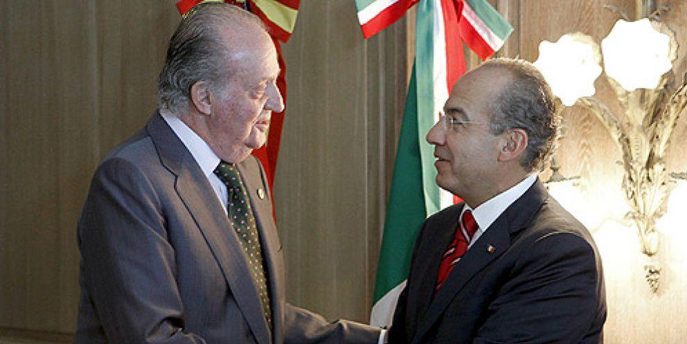 Foto: El Rey tercia ante el presidente de México para arreglar el conflicto entre Repsol y Pemex