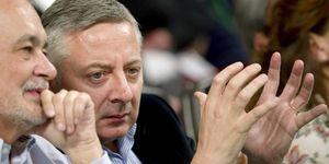 Blanco toma partido por Griñán frente a Chaves en plena crisis del PSOE andaluz