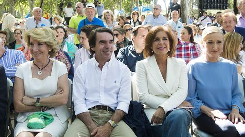 Aznar afea el trato del PP a Botella: Aguirre recibe la mejor herencia