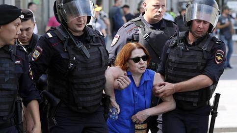Más de un millar de detenidos en Moscú por protestar por unos comicios justos