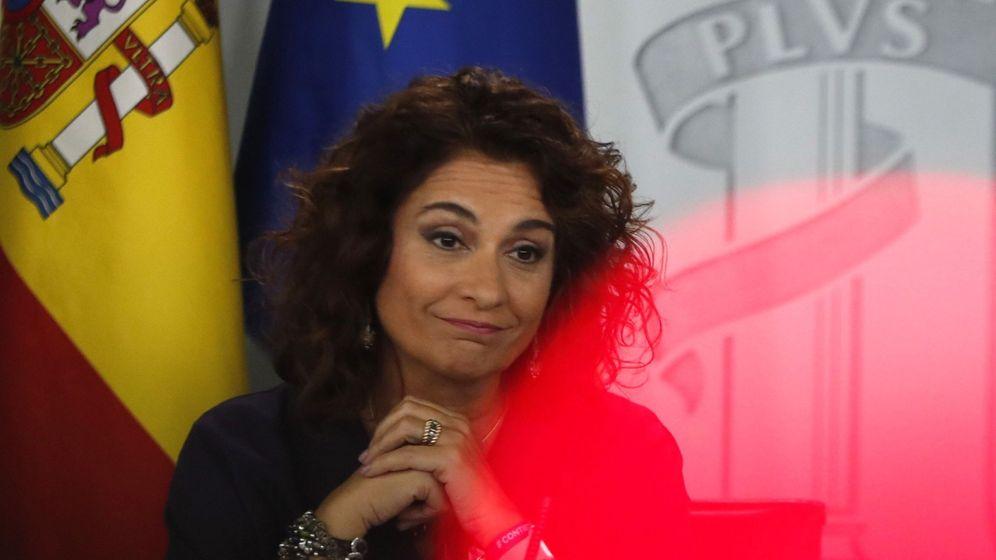 Foto: La ministra de Hacienda, María Jesús Montero, en el Consejo de Ministros (Efe)