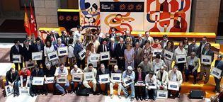 Foto: Aguirre reparte 'soles' en un deslucido homenaje a los mejores cocineros de Madrid
