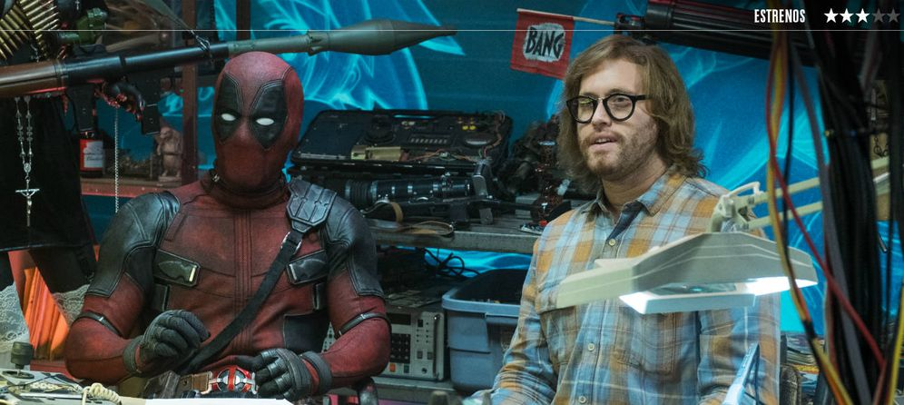 Foto: Ryan Reynolds y T.J. Miller, en un fotograma de 'Deadpool 2'. (20th Century Fox)