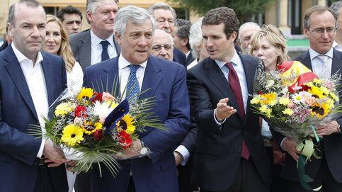 El Grupo del Partido Popular Europeo muestra su apoyo público a Casado