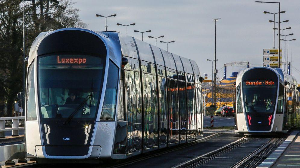 Foto: El transporte público será gratuito en Luxemburgo desde 2020. (EFE)