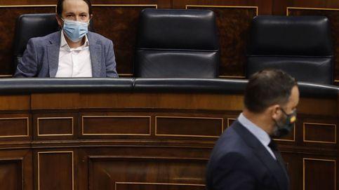 Abascal copia a Pablo Iglesias y busca nota en septiembre ante Casado... y Ayuso