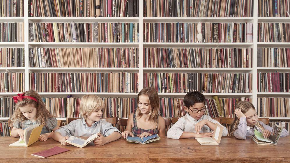 Foto: Los niños ricos son más listos, pero no por el dinero de sus padres (Corbis)