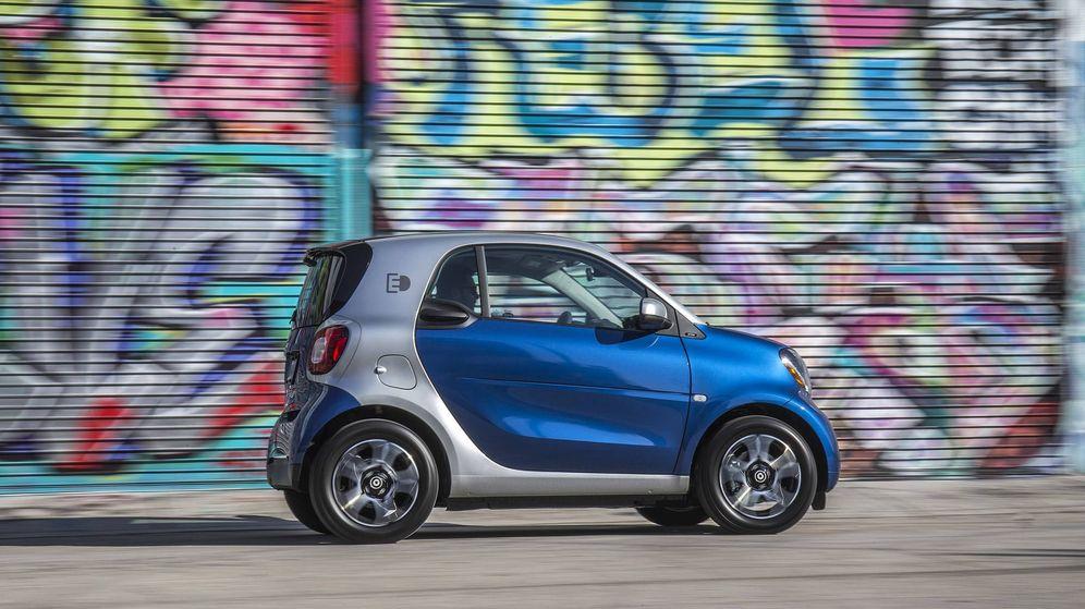Foto: El smart eléctrico es la mejor alternativa para el tráfico urbano.