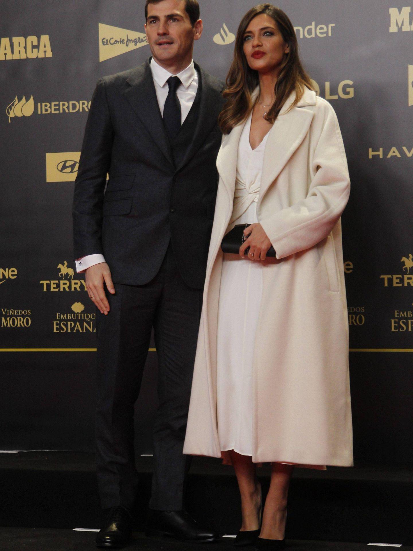 Iker Casillas y Sara Carbonero. (Cordon press)
