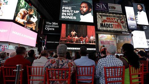 Ópera en vivo en Times Square