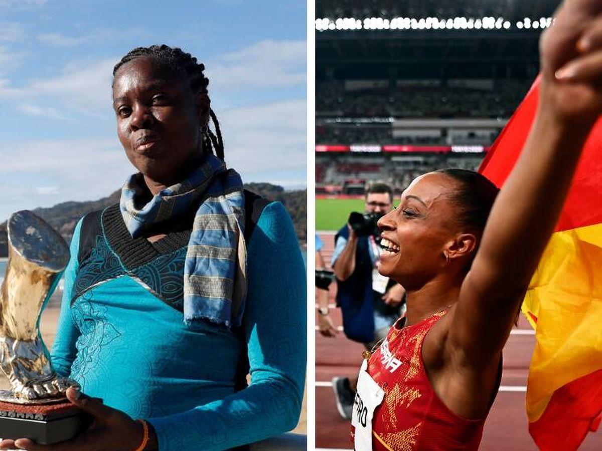 Foto: A la izquierda, Niurka Montalvo; a la derecha, Ana Peleteiro.