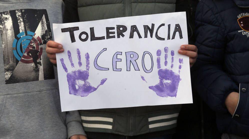 Foto: Imagen de archivo de una concentración contra la violencia machista. (EFE)