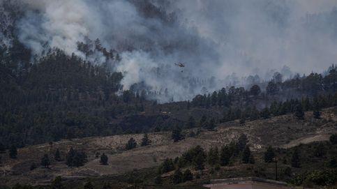 La UME se incorpora a las labores de extinción del fuego de Tenerife