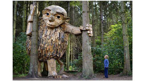 ¿Conoces a los seis gigantes de madera olvidados?