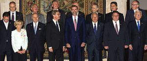 El Príncipe analiza el futuro de Europa con los ministros de Exteriores de la UE