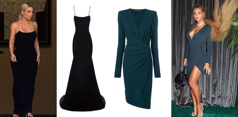 Foto: Estos son los vestidos elegidos por Kim Kardashian y Beyoncé.