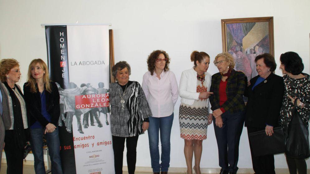 Foto: Acto de homenaje a la abogada laboralista Aurora León. (Centro de Estudios Andaluces)