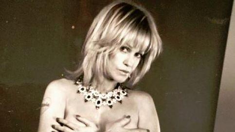Melanie Griffith, en 'topless' para lucir sus joyas