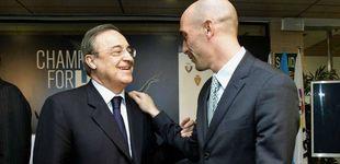 Post de Florentino Pérez no le coge el teléfono a Rubiales, pero ¿no debería ser al revés?