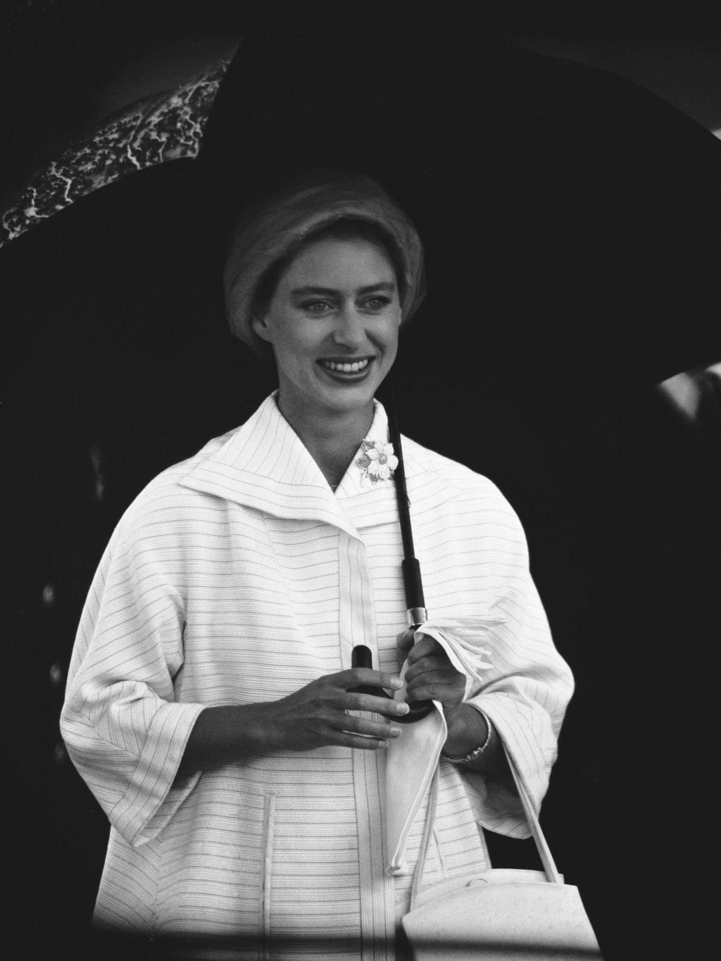 La princesa Margarita, en 1958. (Getty)