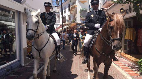 Quién coló policías a caballo en la boda de un miembro del PSOE marbellí
