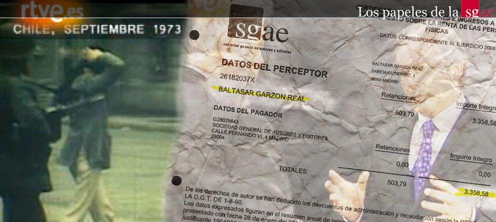 Foto: Garzón paró la investigación a la SGAE porque era socio y cobraba derechos de autor