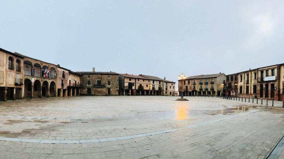 Foto: La plaza de Medinaceli.