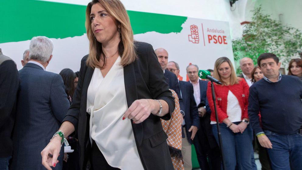 Las razones por las que Susana Díaz se enroca y se niega a dar un paso atrás