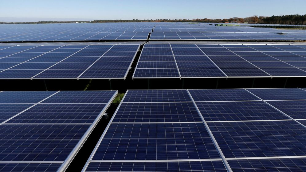 Foto: Planta solar fotovoltaica. (Reuters)
