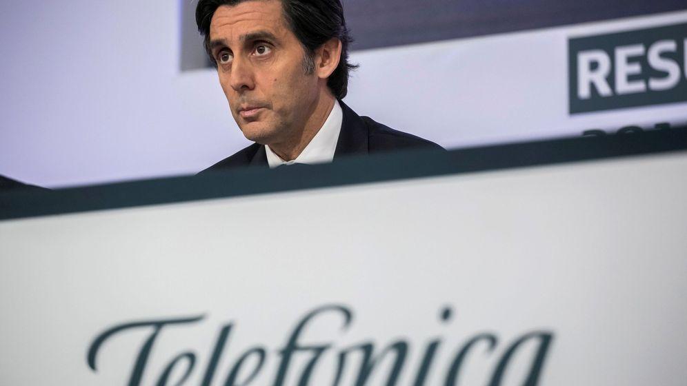 Foto: El presidente del Telefónica, José María Álvarez-Pallete. (EFE)