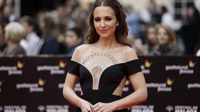 Paula Echevarría derrota a todas en Málaga con un vestido de casi 3.000 euros