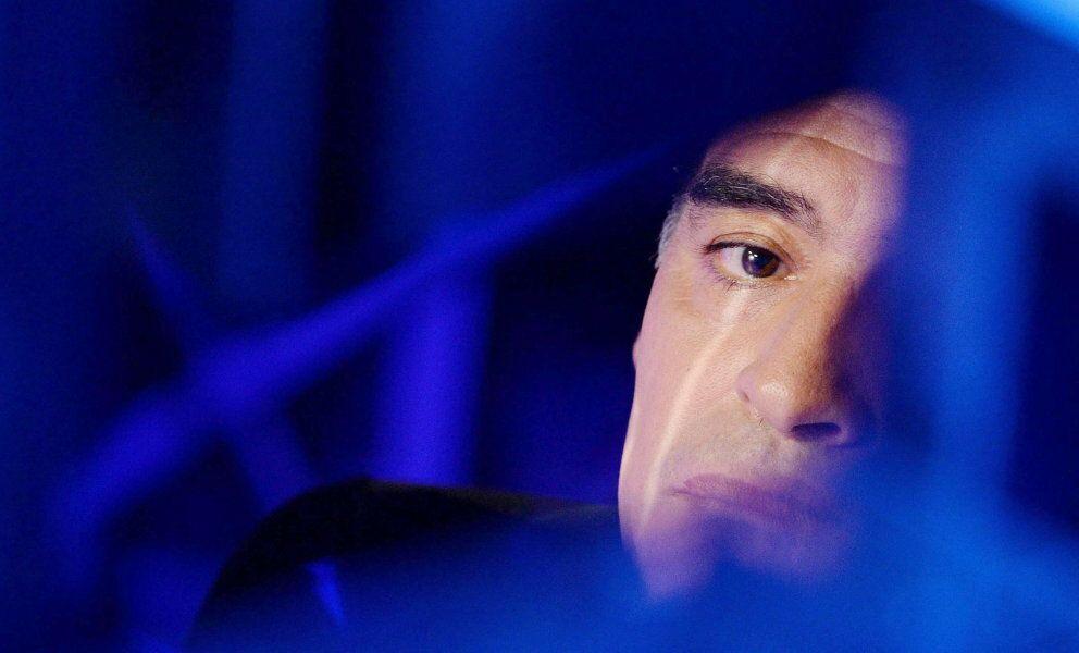 Maradona en un programa de la televisión italiana (Reuters)