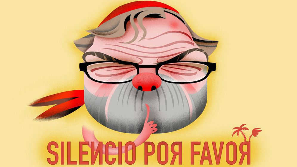 Foto: Juan Luis Cebrián. (Ilustración: Raúl Arias)