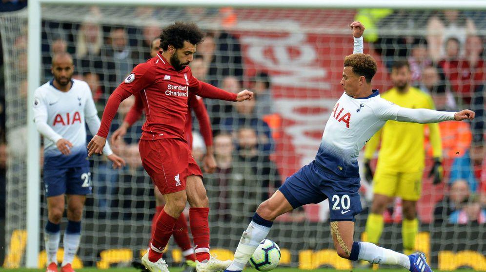 Foto: Final de la Champions entre Tottenham y Liverpool (Reuters)
