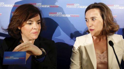 La candidata de Cospedal y Santamaría en La Rioja, por delante del presidente