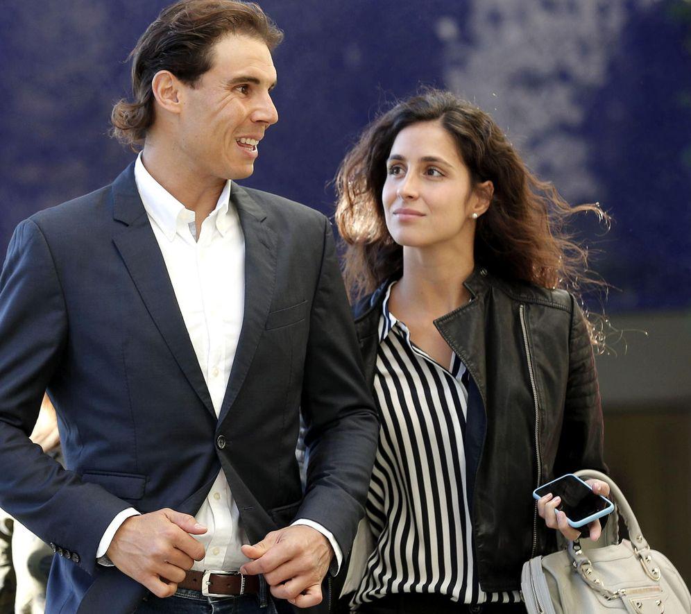 Foto: Rafa Nadal y su novia en una imagen de archivo (EFE)
