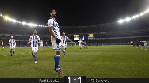 El Barcelona rescata con ayuda arbitral un punto de su campo maldito