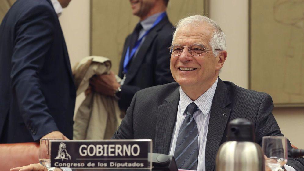 Foto: El ministro de Exteriores, Josep Borrell, el martes en el Congreso. (EFE)