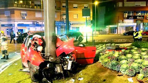 Luto en Murcia por el brutal accidente de cinco jóvenes de entre 19 y 21 años
