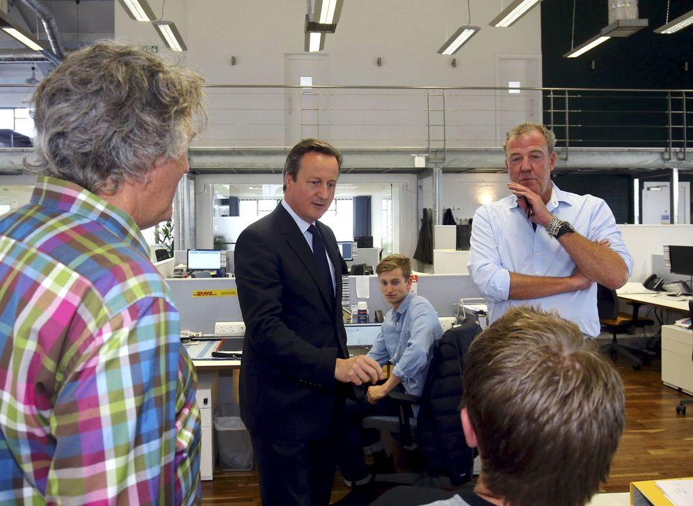 Foto: El primer ministro británico David Cameron durante un acto de campaña en Londres, el 16 de junio de 2016 (Reuters).