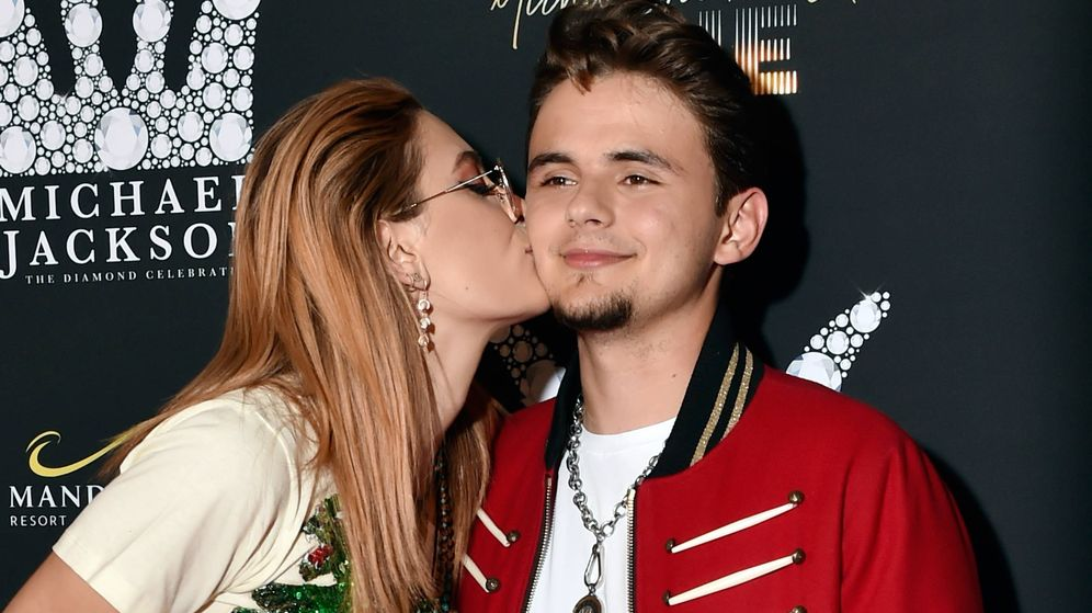 Foto: Paris y Prince Jackson. (Getty)