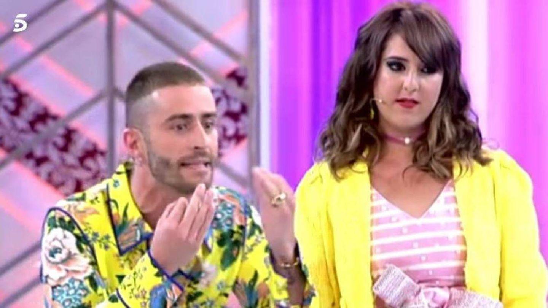 Pelayo Díaz se enfada con su compañera Natalia.