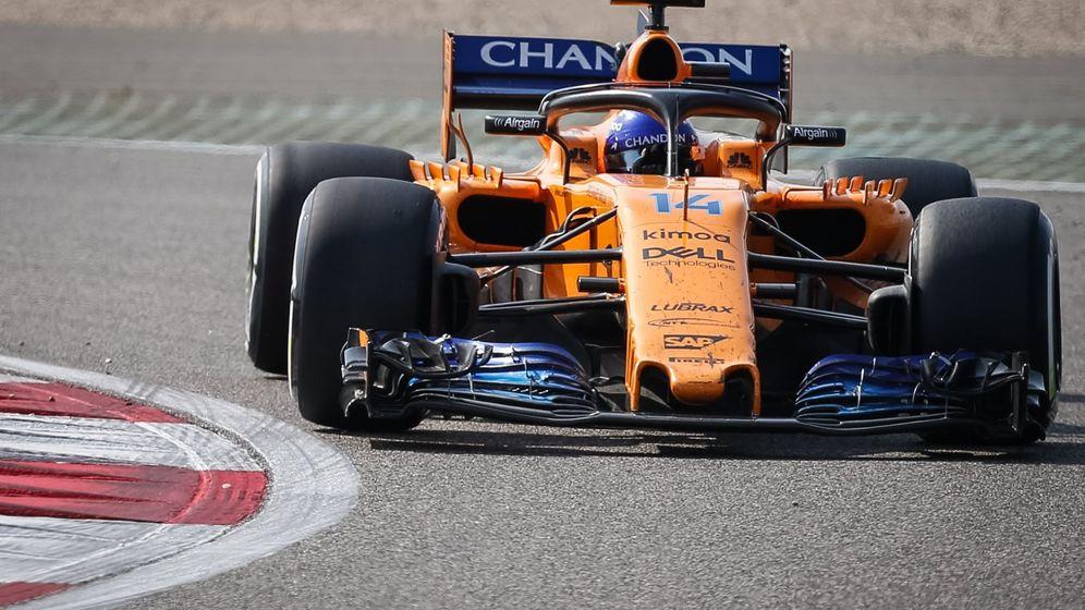 Foto: Fernando Alonso mejoró seis posiciones durante el Gran Premio de China de F1. (EFE)