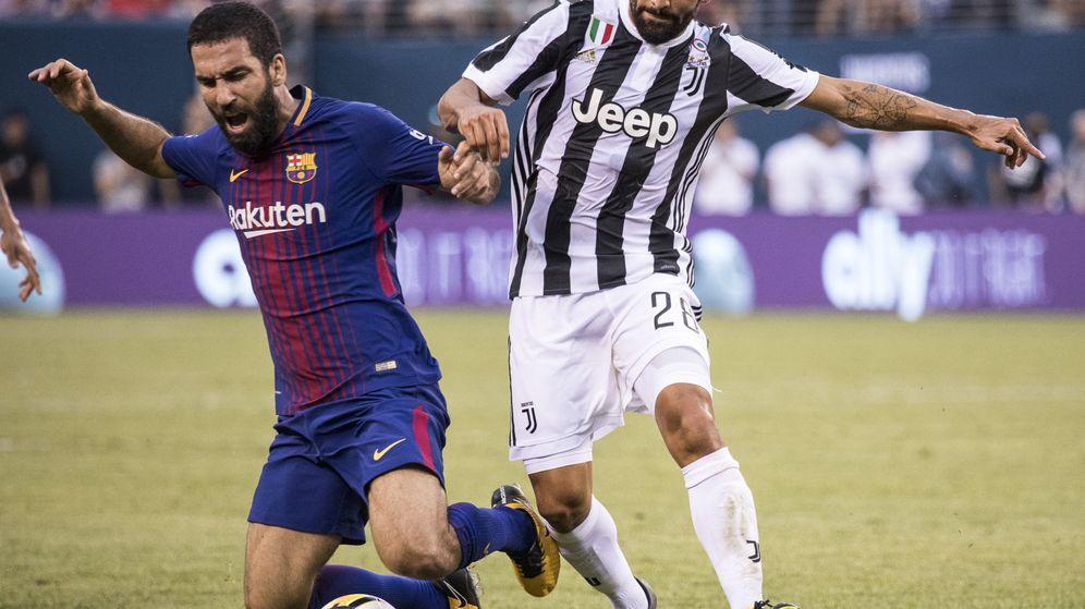 Foto: El FC Barcelona se enfrentó a la Juventus en la la International Champions Cup. (EFE - Edu Bayer)