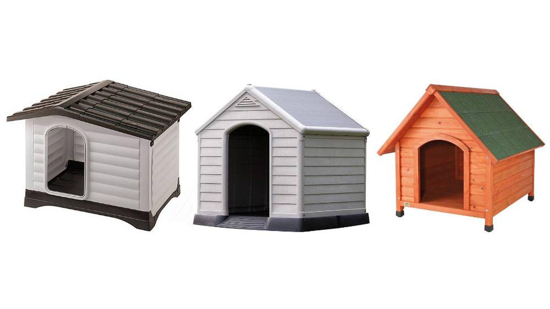 Las mejores casetas para perros de madera y plástico para exteriores y jardines