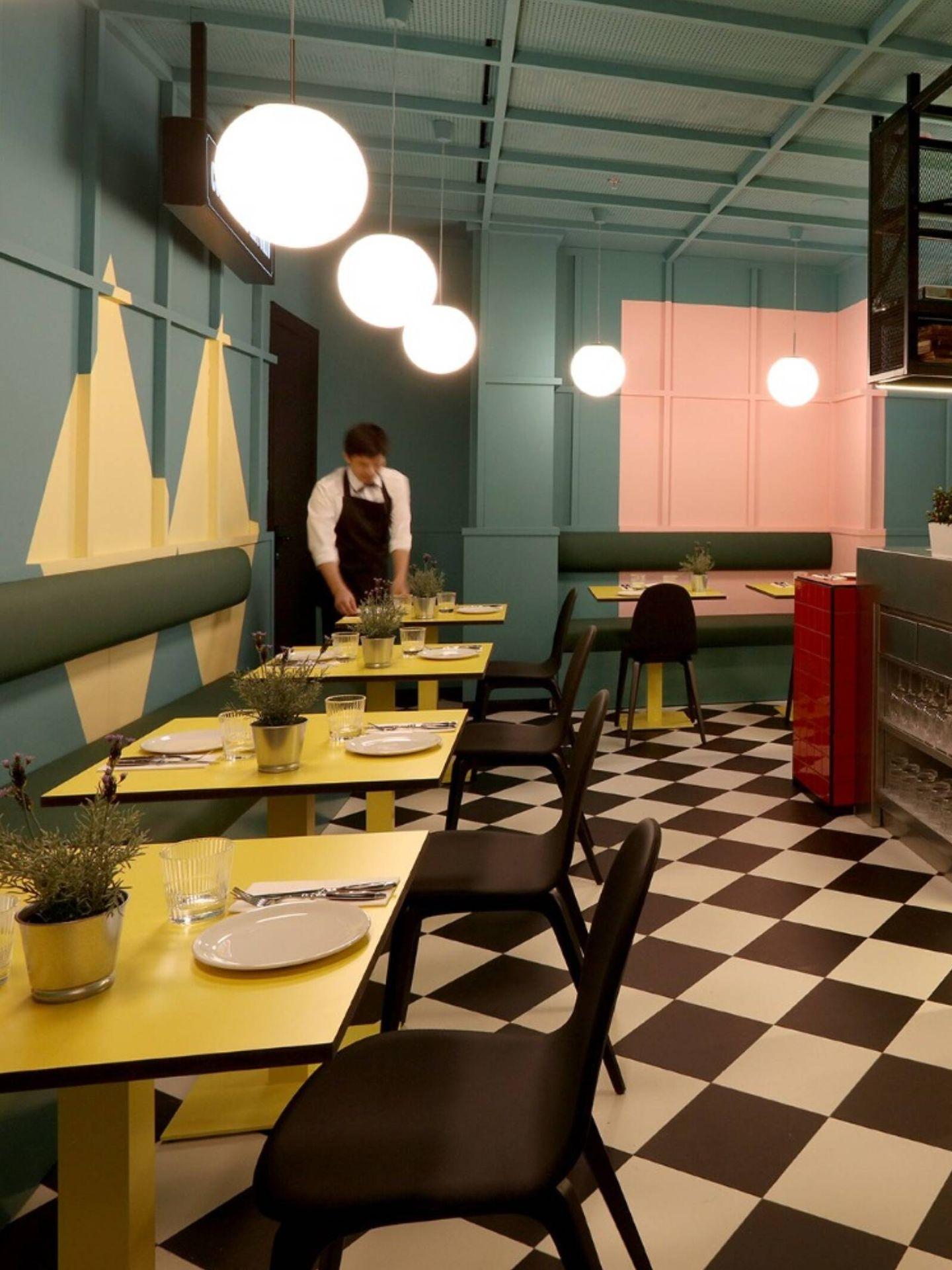 Restaurante 'Los chicos, las chicas y los maniquís', en Madrid. (Cortesía)