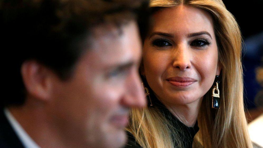 Foto: Ivanka Trump y Justin Trudeau en una imagen de archivo. (Reuters)
