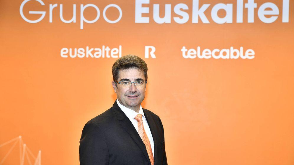 Foto: José Miguel García, recientemente nombrado CEO de Euskaltel.