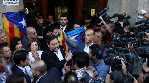 """Un Junqueras muy afectado anuncia: """"culminaremos el trabajo de los detenidos"""""""