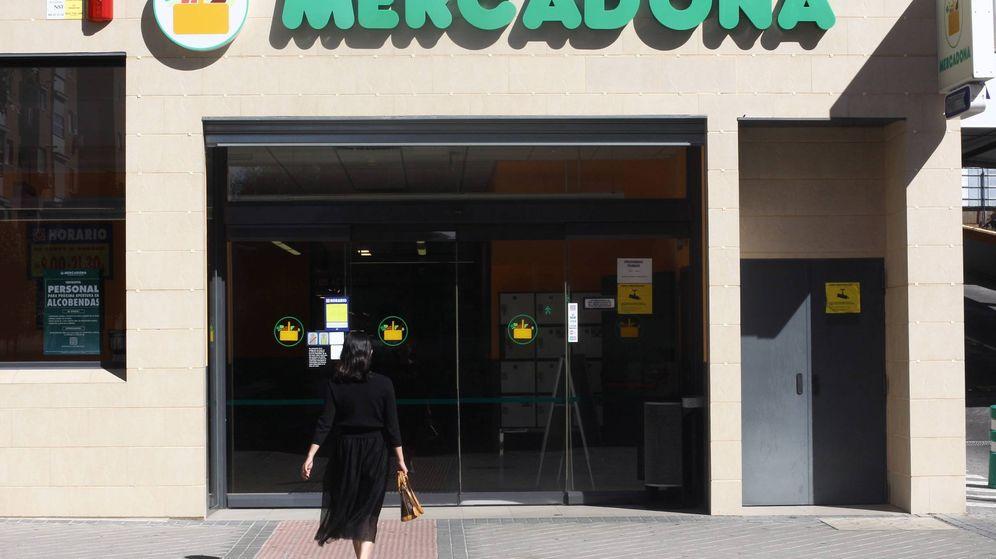 Foto: Fachada de un Mercadona. (EFE)